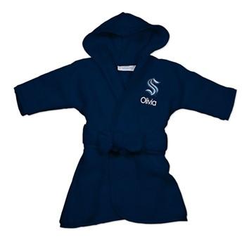Seattle Kraken baby robe.