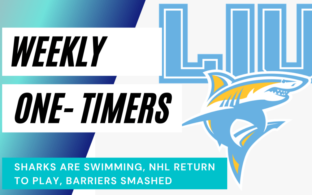 NHL Return to Play, Holtby at Border, Sharks Swimming