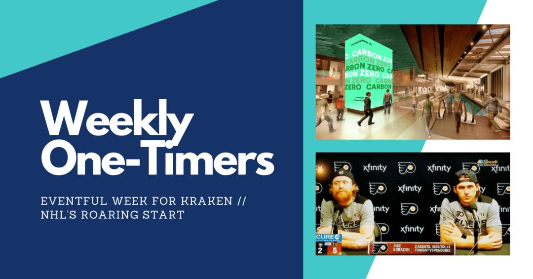 Interesting week for Seattle Kraken, NHL's roaring start