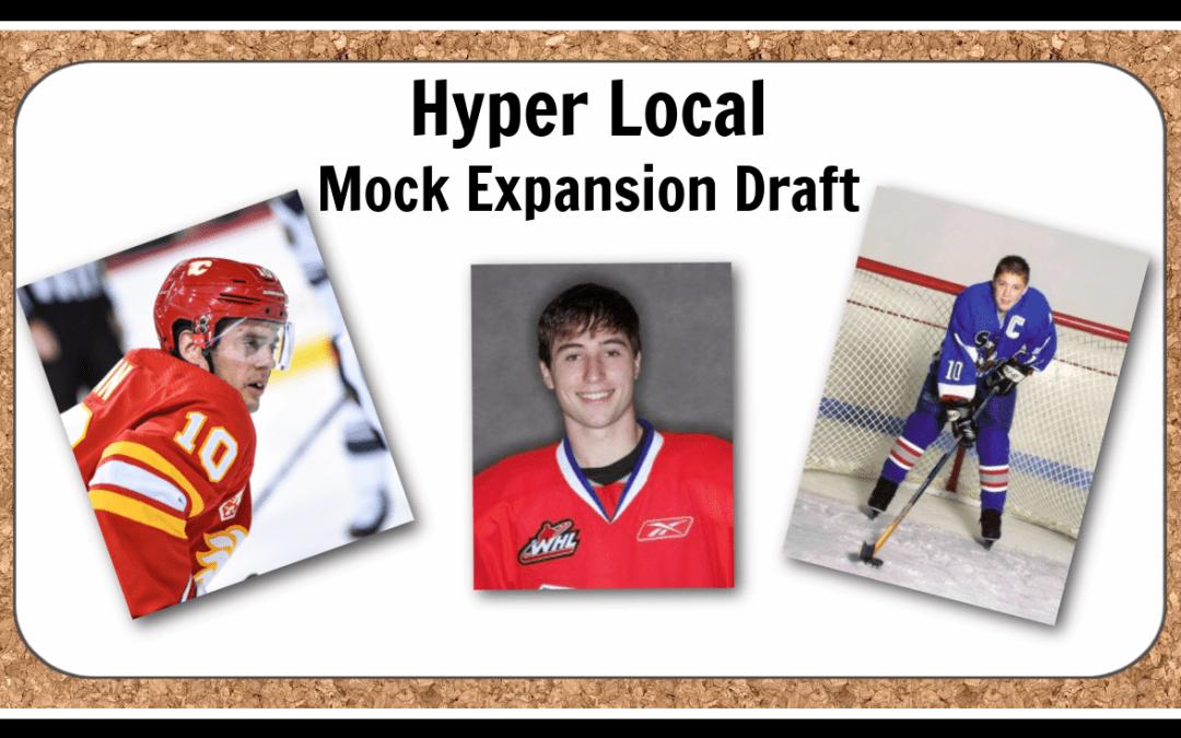The hyper-local Seattle Kraken mock Expansion Draft