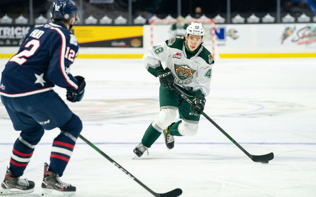 Get to know local NHL prospect Olen Zellweger of the Everett Silvertips