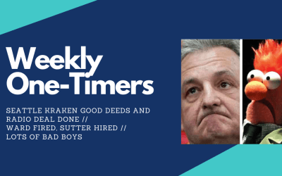 Weekly One-Timers: Seattle Kraken do good deeds and make radio deal