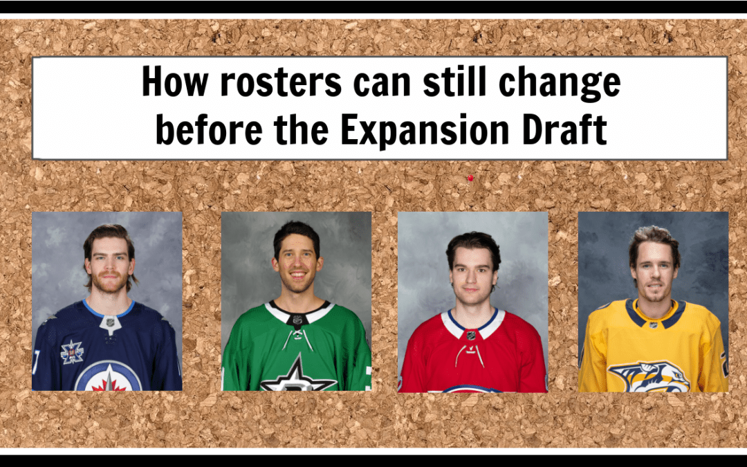 How rosters can change before the Expansion Draft