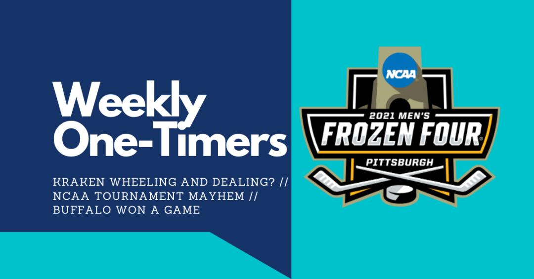 Weekly One-Timers: Seattle Kraken wheeling and dealing? NCAA mayhem