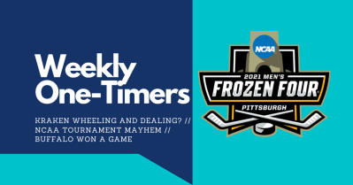 Weekly One-Timers: Seattle Kraken wheeling and dealing? NCAA mayhem