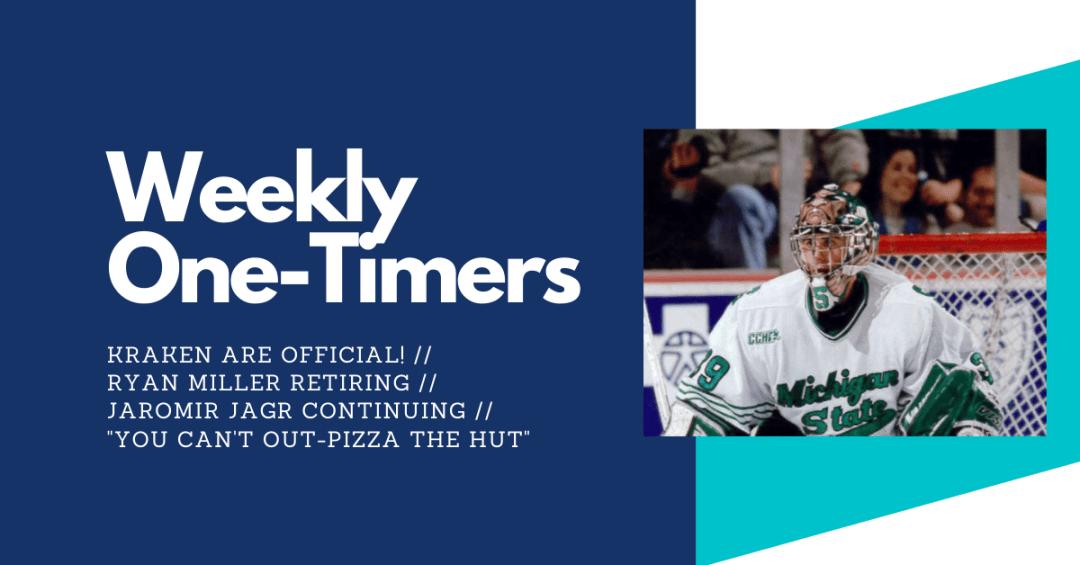 Seattle Kraken final payment, Ryan Miller retires, Jaromir Jagr continues – Weekly One-Timers