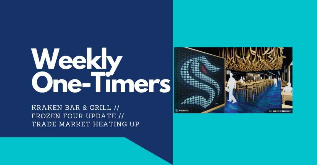 Weekly One-Timers: Seattle Kraken bar, NHL trades heating up