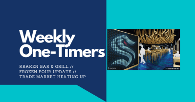 Weekly One-Timers: Seattle Kraken bar, NHL trades heating up