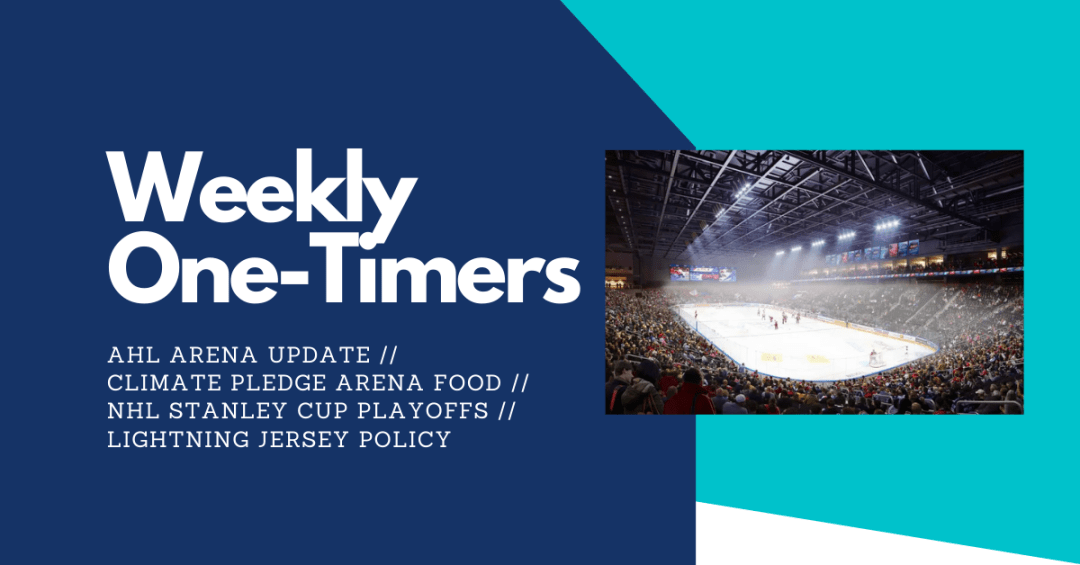 Weekly One-Timers Logo - AHL Arena Update and more