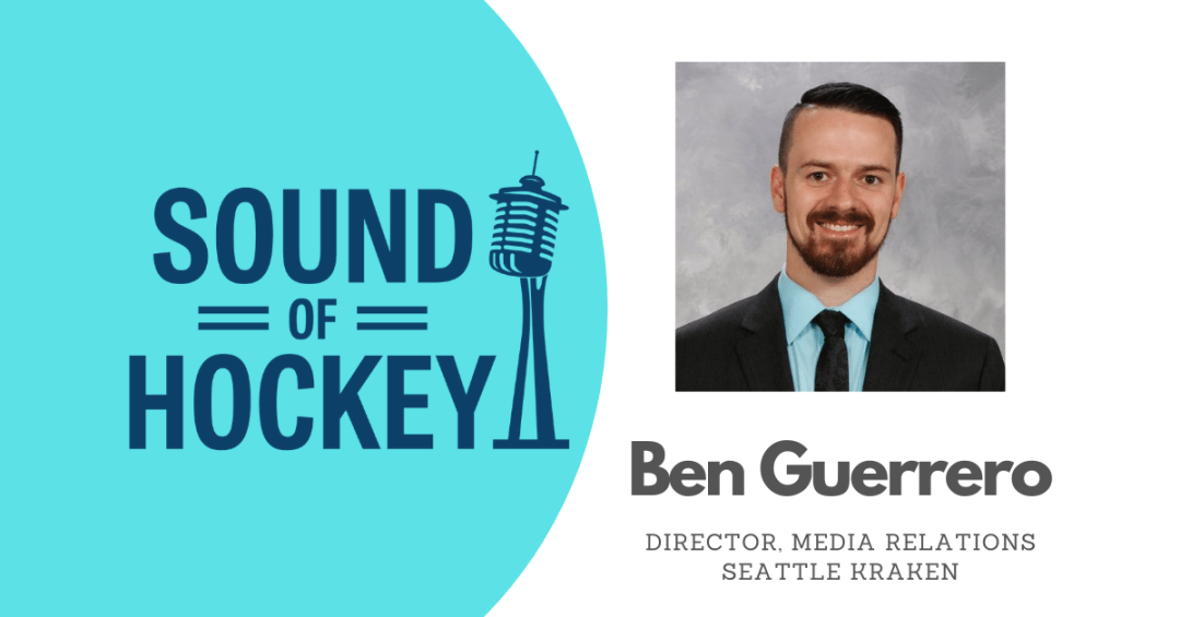 Ben Guerrero appears on the Sound Of Hockey Podcast