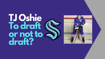 A look at whether T.J. Oshie is worth the Seattle Kraken Expansion Draft pick