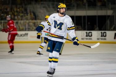 Matthew Beniers could be the Seattle Kraken pick during NHL Draft