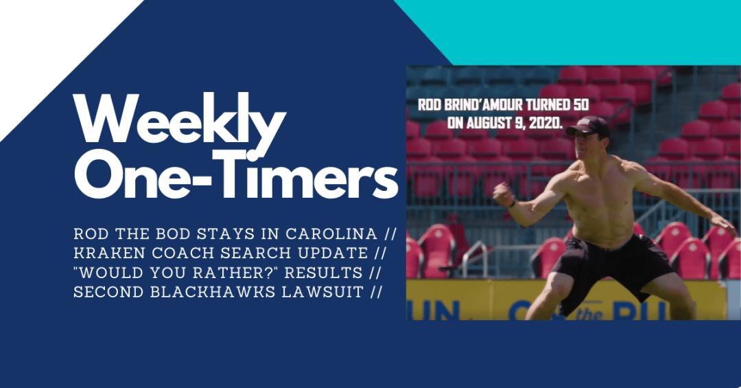 Seattle Kraken head coach update – Weekly One-Timers