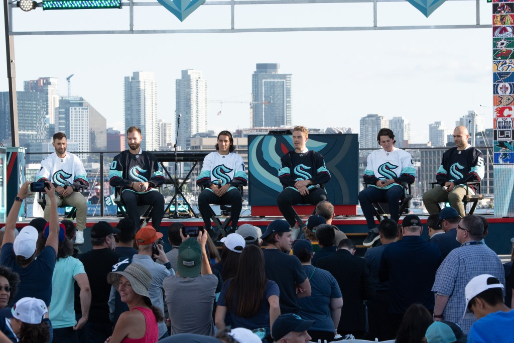 The first Kraken players introduced at Expansion Draft