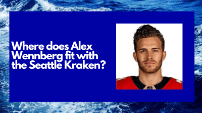 Where does free agent signee Alexander Wennberg fit in the Seattle Kraken lineup?