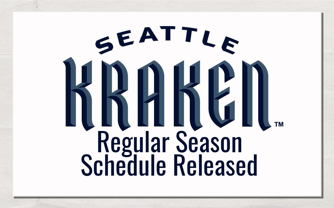 Seattle Kraken schedule released