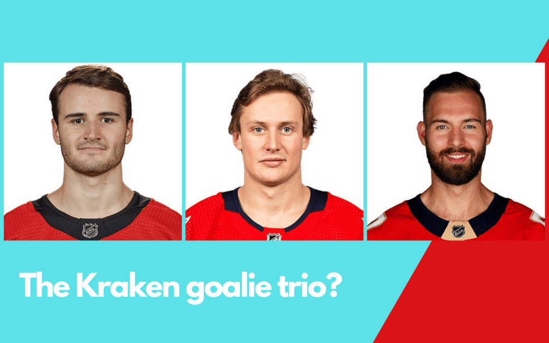 A look at the three goalies reportedly taken in the Seattle Kraken Expansion Draft