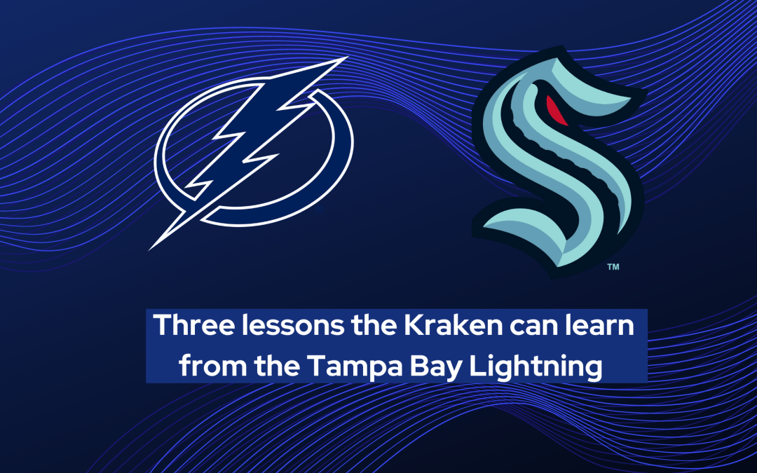 Three lessons the Kraken can learn from the Tampa Bay Lightning