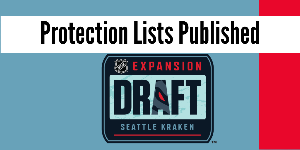 Seattle Kraken Expansion Draft protection lists