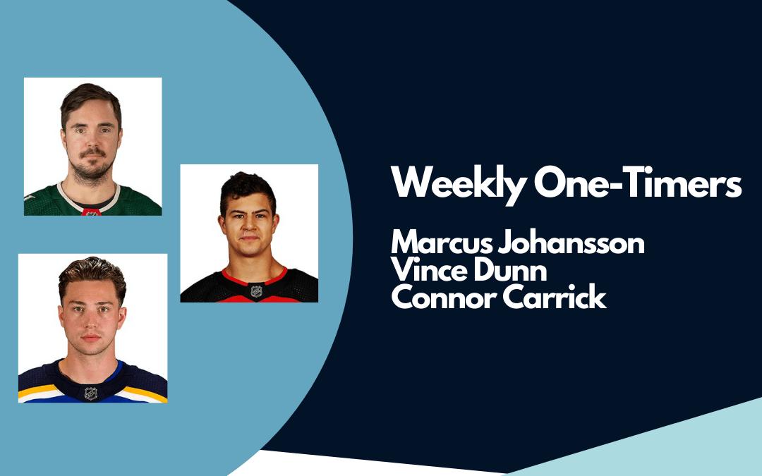 Kraken sign Johansson, Dunn, Carrick