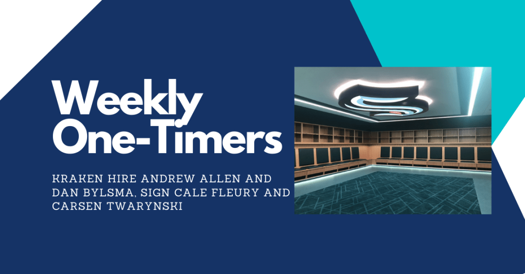 Weekly One-Timers image