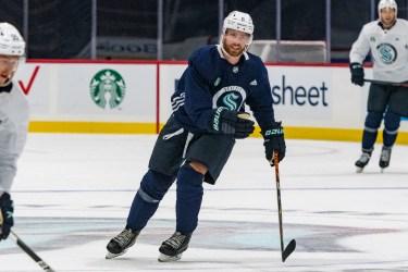 Adam Larsson set up to anchor Seattle Kraken blue line