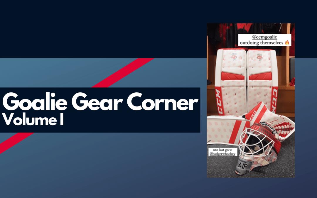Goalie Gear Corner Volume I logo
