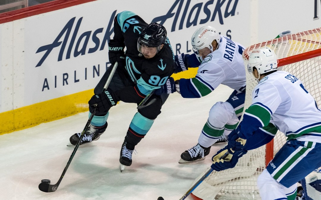 Seattle Kraken a hit on and off the ice during preseason win over Vancouver