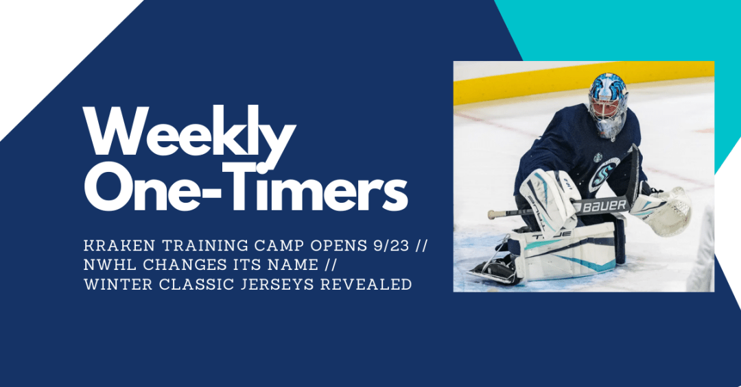 Kraken players skate, training camp opening soon, vaccinations required – Weekly One-Timers
