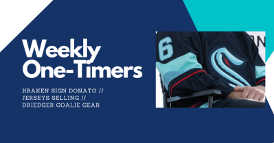 Kraken sign Donato, jerseys selling like hotcakes – Weekly One-Timers